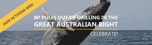 imAGE CELEBRATING THAT bp WILL NOT GRILL FOR OIL IN THE gab FOLLOWING agm ACTIVISM