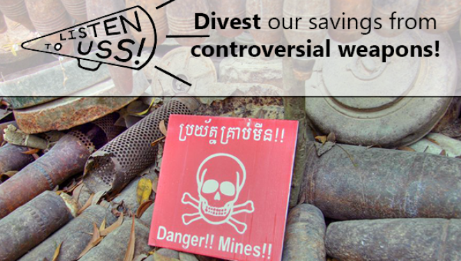Will USS listen to its members and divest from controversial weapons?
