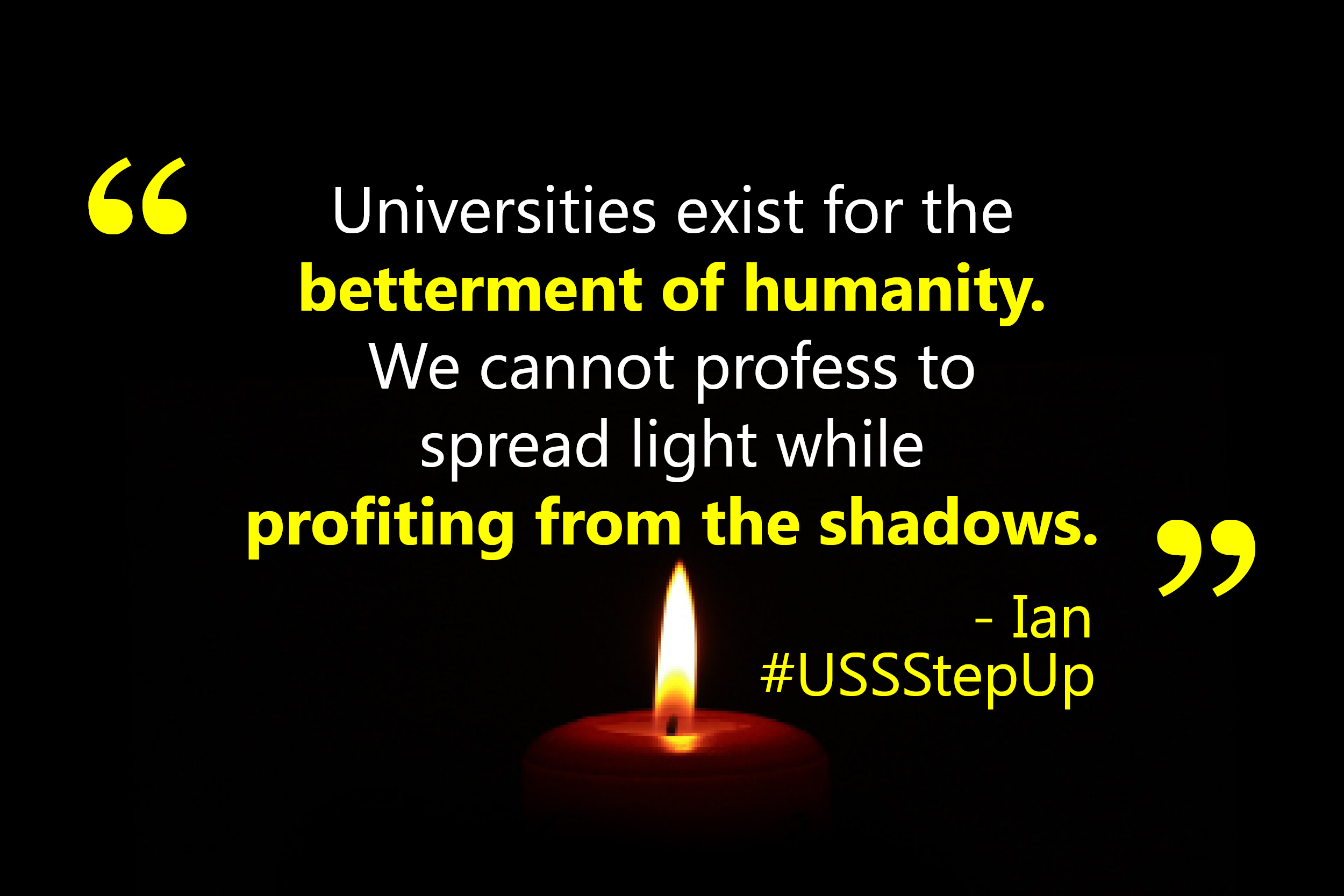 USS members speak up for USS to step up