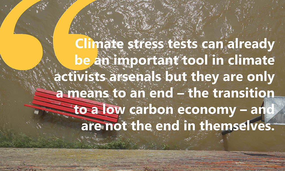 Climate Stress Tests: What I learned from the experts